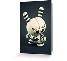 "Grey ""craola"" Simkins Dunny Greeting Card"