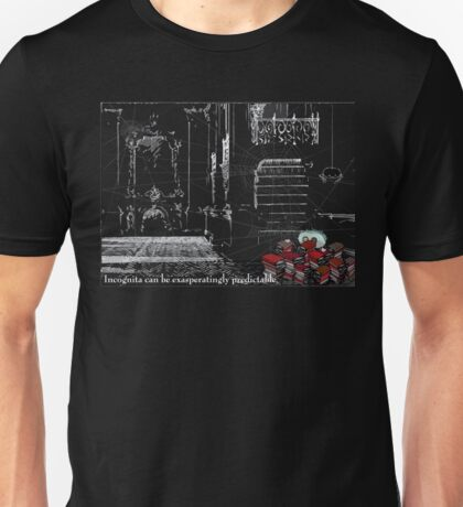 Cog has one invariable response to the challenges that life throws up... Unisex T-Shirt