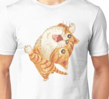 Tabby to look up at Unisex T-Shirt