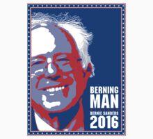 Bernie Sanders 2016 - Berning Man Kids Clothes