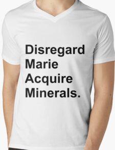 Disregard Marie Acquire Minerals Mens V-Neck T-Shirt