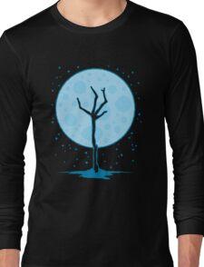 Zombie Snowman Long Sleeve T-Shirt