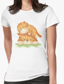 Family of tabby Womens Fitted T-Shirt
