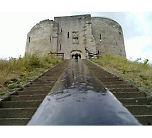 Steps to the Castle - N900 Photographic Print