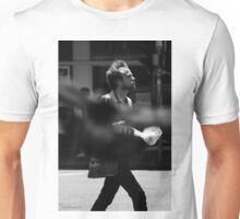 """A stroll through West End...""""Watch out for the pigeon!!!"""" Unisex T-Shirt"""