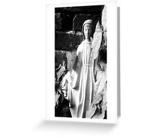 Mary of the Garden I Greeting Card
