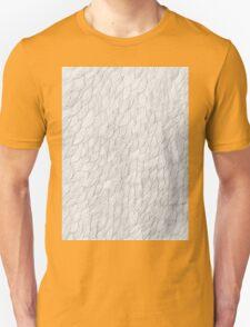 Grayscale Pencil Doodle Waves T-Shirt