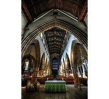 Loughborough Church Altar & Nave Photographic Print
