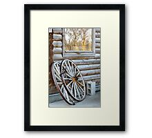 The Old...Meets the New Framed Print