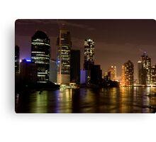 Brisbane City at Night Canvas Print