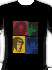 cowboy bebop knocking on heavens door movie anime manga shirt T-Shirt