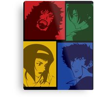 cowboy bebop knocking on heavens door movie anime manga shirt Metal Print
