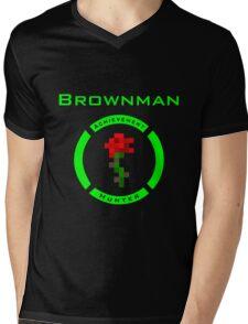 Brownman  Mens V-Neck T-Shirt