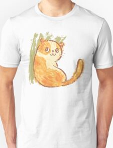 Smile of fat cat Unisex T-Shirt
