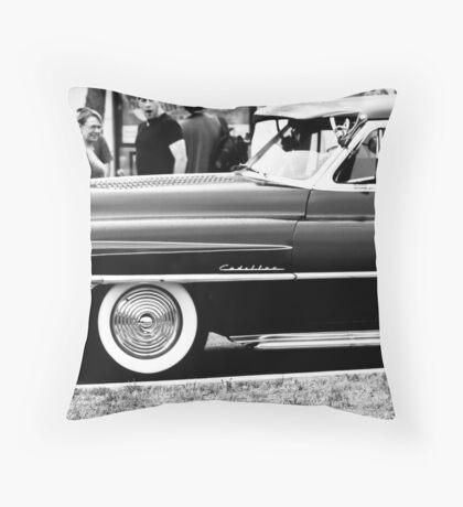 Classic Autos Throw Pillow