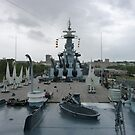 USS North Carolina by nealbarnett