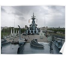 USS North Carolina Poster