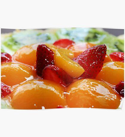 Fruit flan Poster