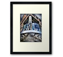 News Room Framed Print
