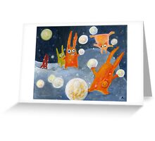 Snowballs Greeting Card