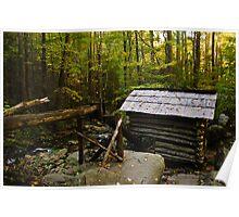 Bud Ogle's Tub Mill Poster