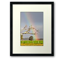 Heart of the Rainbow Framed Print