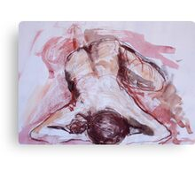 Relaxing Figure Canvas Print