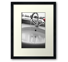 morning blur.. Framed Print