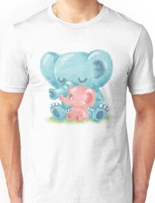 Family of elephant Unisex T-Shirt