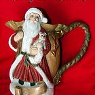 "Ole Santa Says ""Merry Christmas"" by Lucinda Walter"