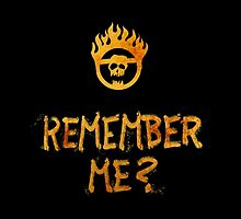 Fury Road - Remember Me? (text only) by verick