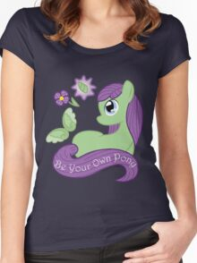 Be Your Own Pony (Ladies) Women's Fitted Scoop T-Shirt