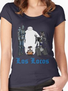 Los Locos Women's Fitted Scoop T-Shirt