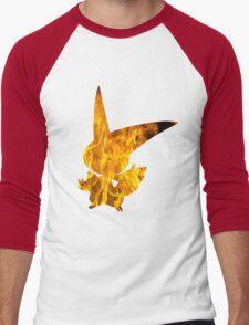 Victini used overheat Men's Baseball ¾ T-Shirt