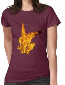 Victini used overheat Womens Fitted T-Shirt
