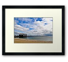 Busselton Jetty  Framed Print