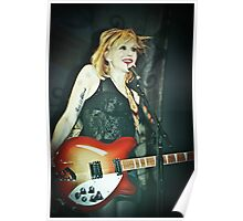 courtney love in rome 2010 Poster