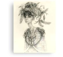 Witch Doctor / Portrait of Tara Canvas Print