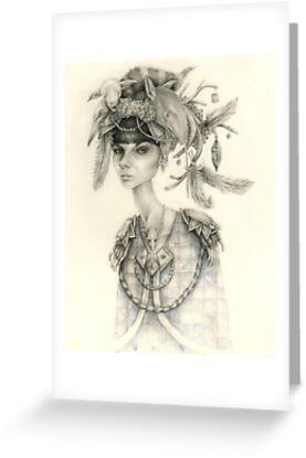 Witch Doctor / Portrait of Tara by brettisagirl