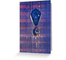 WTC Crane Greeting Card