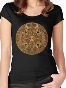 Pokemon Mayan Calendar Women's Fitted Scoop T-Shirt