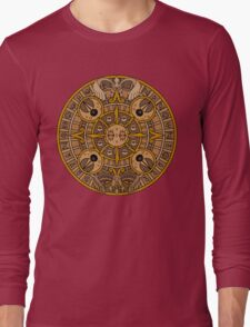 Pokemon Mayan Calendar Long Sleeve T-Shirt