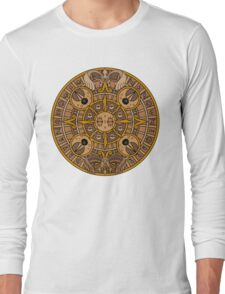 Pokemon Mayan Calendar Long Sleeve T-Shirt