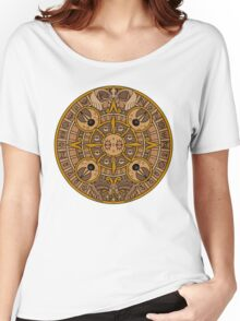 Pokemon Mayan Calendar Women's Relaxed Fit T-Shirt