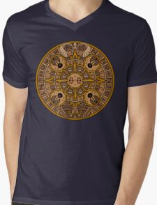 Pokemon Mayan Calendar Mens V-Neck T-Shirt