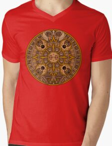 Pokemon Mayan Calendar Mens V-Neck T-Shirt