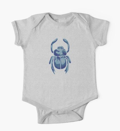 Heart Scarab One Piece - Short Sleeve