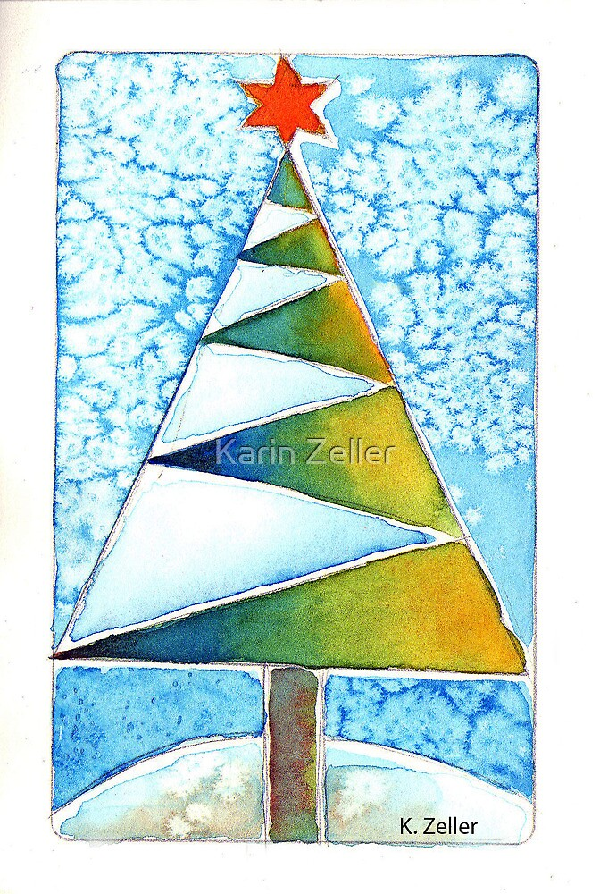 Christmas tree by Karin Zeller