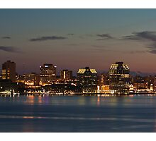 Halifax Skyline Photographic Print