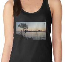 Detroit Skyline  - Belle Isle sunset  Women's Tank Top